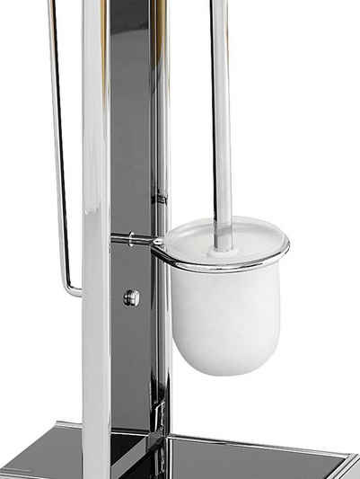 WC-Ständer aus Glas
