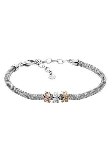Skagen Edelstahlarmband »MERETE, SKJ1305998«, mit Kristallsteinen