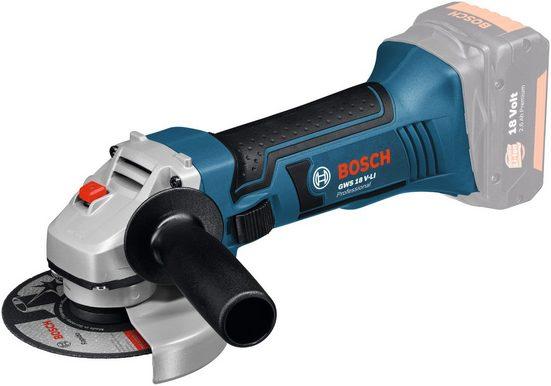 Bosch Professional Akku-Winkelschleifer »GWS 18-125 V-LI«, max. 10000 U/min