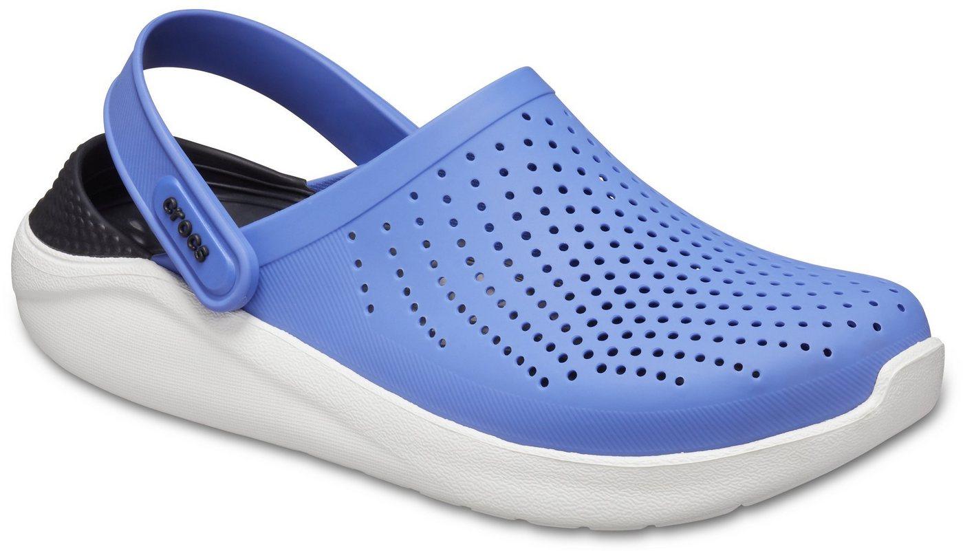 Clogs - Crocs »LiteRide Clog« Clog mit praktischem Fersenriemen › blau  - Onlineshop OTTO
