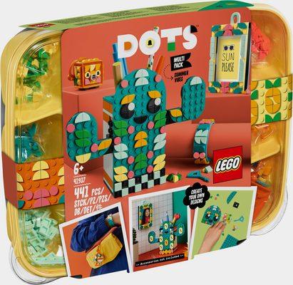 Konstruktionsspielsteine »Kreativset Sommerspaß (41937), LEGO® DOTS«, (441 St), Made in Europe