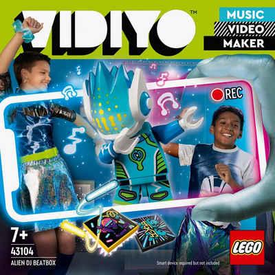 LEGO® Konstruktionsspielsteine »Alien DJ BeatBox (43104), LEGO® VIDIYO™«, (73 St), appfähig durch die LEGO® VIDIYO™ App