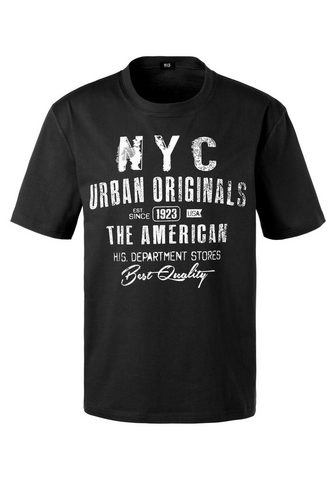 H.I.S Marškinėliai su NYC Frontprint