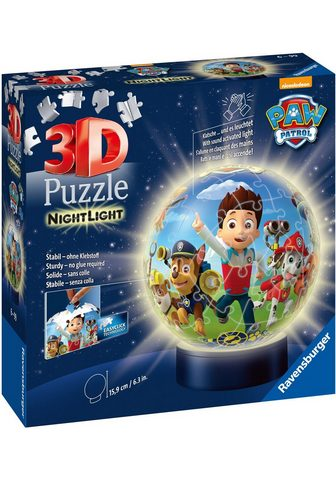 Ravensburger Puzzleball »Nachtlicht Paw Patrol« 72 ...