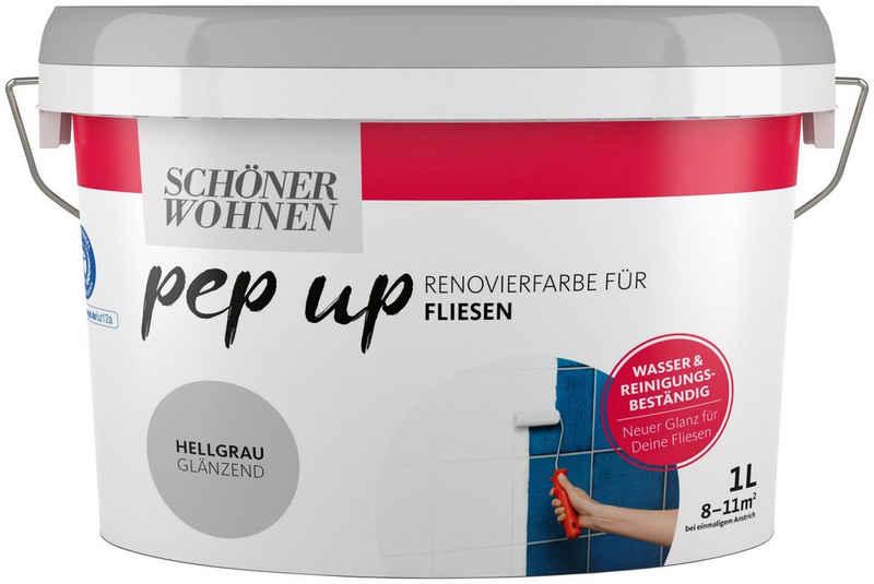 SCHÖNER WOHNEN-Kollektion Fliesenlack »pep up - hellgrau«