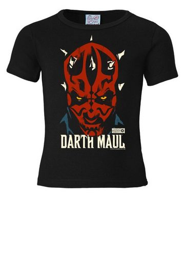 LOGOSHIRT T-Shirt mit coolem Frontprint »Darth Maul - Star Wars«
