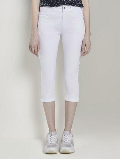 TOM TAILOR 3/4-Jeans »Kate Slim Capri-Jeans«