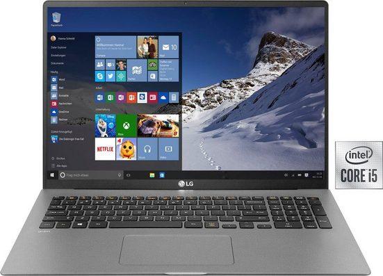 LG Gram 17 Ultraleichtes Notebook (43,18 cm/17 Zoll, Intel Core i5, Iris Plus Graphics, 512 GB SSD, 8 GB DDR4-RAM)