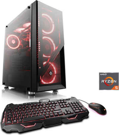 CSL HydroX T8990 Gaming-PC (AMD Ryzen 5 3600, GeForce RTX 2060, 16 GB RAM, 240 GB SSD, Wasserkühlung)