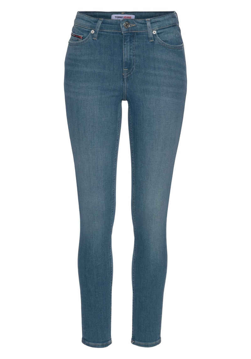 Tommy Jeans Skinny-fit-Jeans »NORA MR SKNY BE163 BBKST« mit Tommy Jeans Logo-Badge