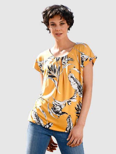 Dress In Print-Shirt mit floralem Print
