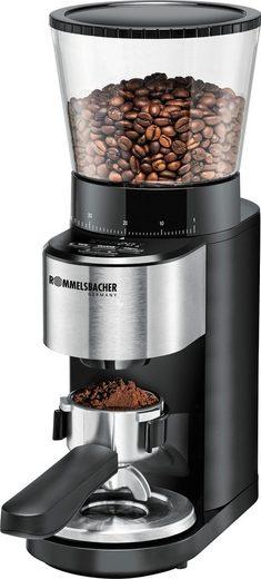 Rommelsbacher Kaffeemühle EKM 500, 160 W, Kegelmahlwerk, 400 g Bohnenbehälter