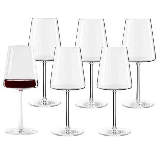 Stölzle Rotweinglas »POWER Rotweinglas 520 ml 6er Set« (6-tlg)