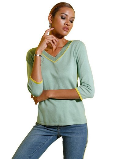 creation L V-Ausschnitt-Pullover »Pullover«