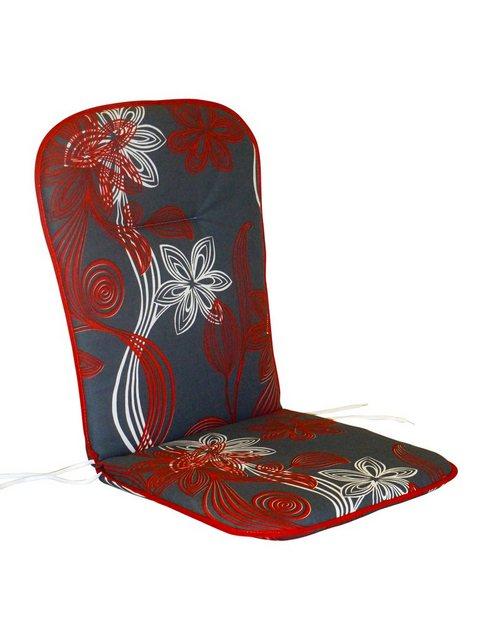 Best Sesselauflage 4 Stück grau