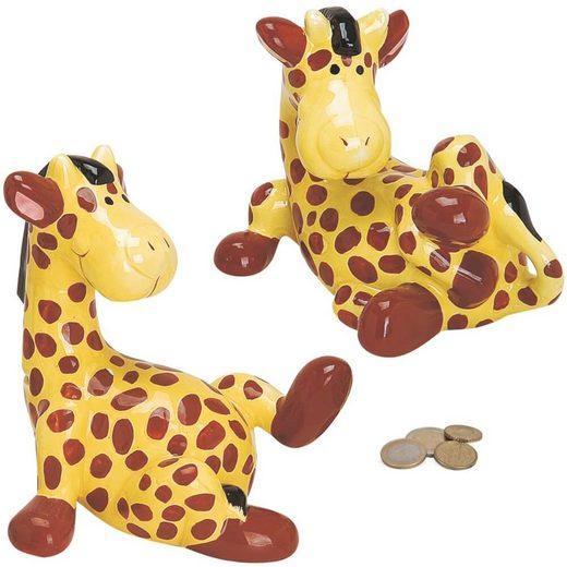 matches21 HOME & HOBBY Spardose »Spardose Giraffe«