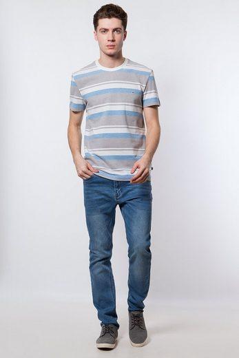 Finn Flare T-Shirt mit tollem Streifenmuster