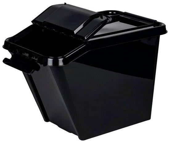 Kreher Aufbewahrungsbox, ca. 27x37x43 cm (BxTxH)