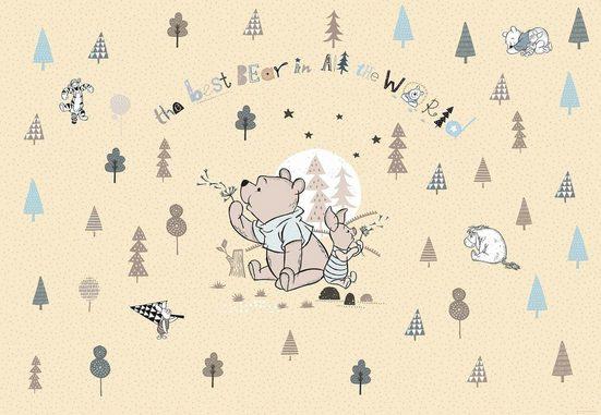 Komar Fototapete »Winnie Pooh Best Bear«, glatt, Comic