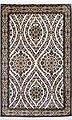 Seidenteppich »Allover 5367«, Kayoom, rechteckig, Höhe 10 mm, Einzelstück mit Zertifikat, Bild 2