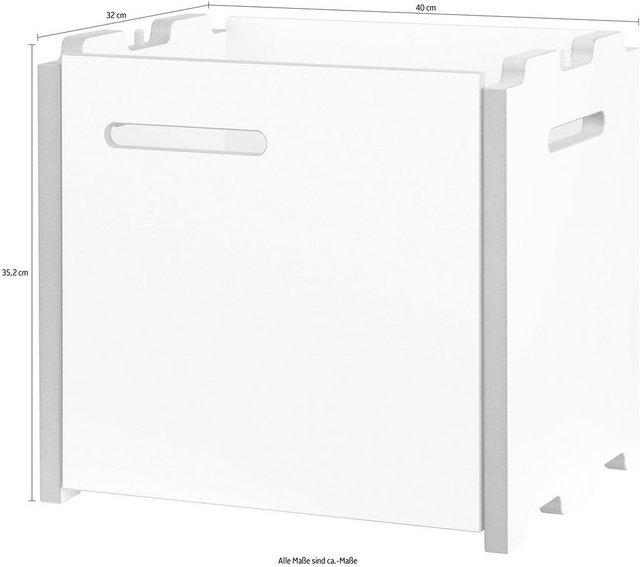 Küchenregale - Tojo Mehrzweckregal »halbstark Anbaumodul mit Türe rechts«  - Onlineshop OTTO