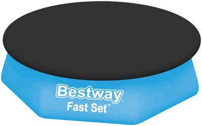 Bestway Pool-Abdeckplane, 220 cm Durchmesser, für runde Fast Set™ Pools