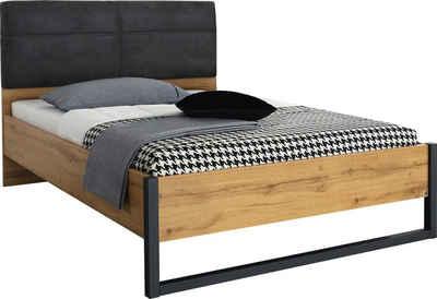 rauch ORANGE Bett »Tampa«, im modernen Industrial Style
