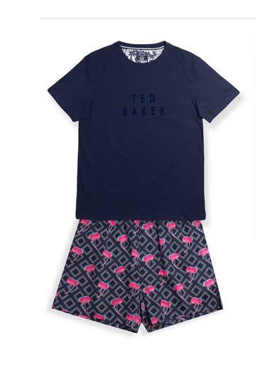 Ted Baker Pyjama »Kurzarm Set 'Lounge Kollektion' Logoprint« (1 tlg)