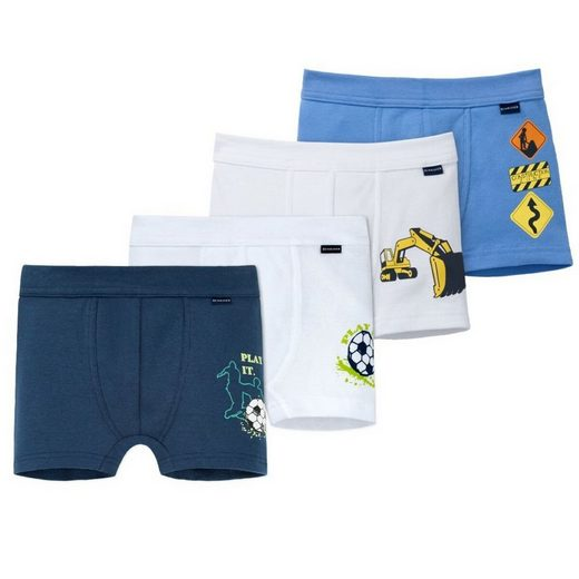 Schiesser Jazzpants »4er Pack Shorts Pants« Pants kurz