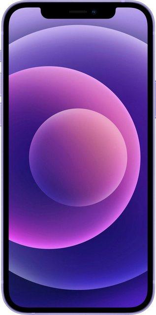 Apple iPhone 12 Smartphone 15,5 cm 6,1 Zoll, 256 GB Speicherplatz, 12 MP Kamera, ohne Strom Adapter und Kopfhörer, kompatibel mit AirPods, AirPods Pro, Earpods Kopfhörer