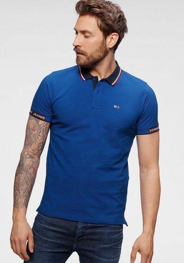 Tommy Jeans Poloshirt »TJM DETAIL RIB JAQUARD POLO«