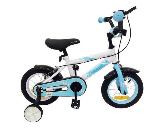 Makani Kinderfahrrad »Kinderfahrrad Windy 16 Zoll«, 1 Gang 1 Gang, keine, Stützräder Metallrahmen Klingel verstellbar