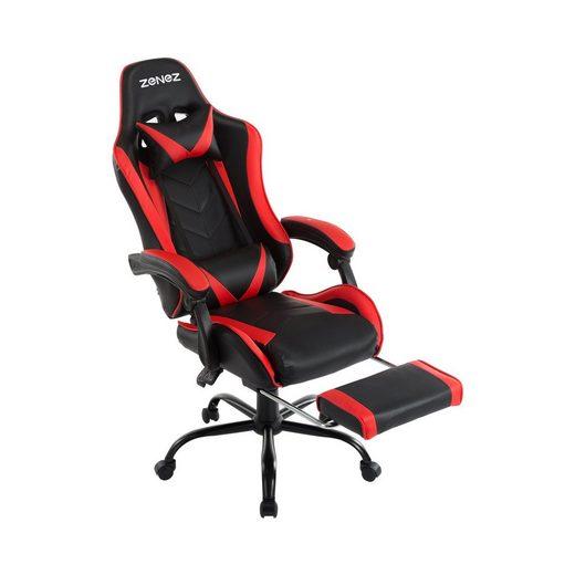 ZENEZ Schreibtischstuhl »2021 NEW Bürostuhl, Gaming Stuhl« (Set)