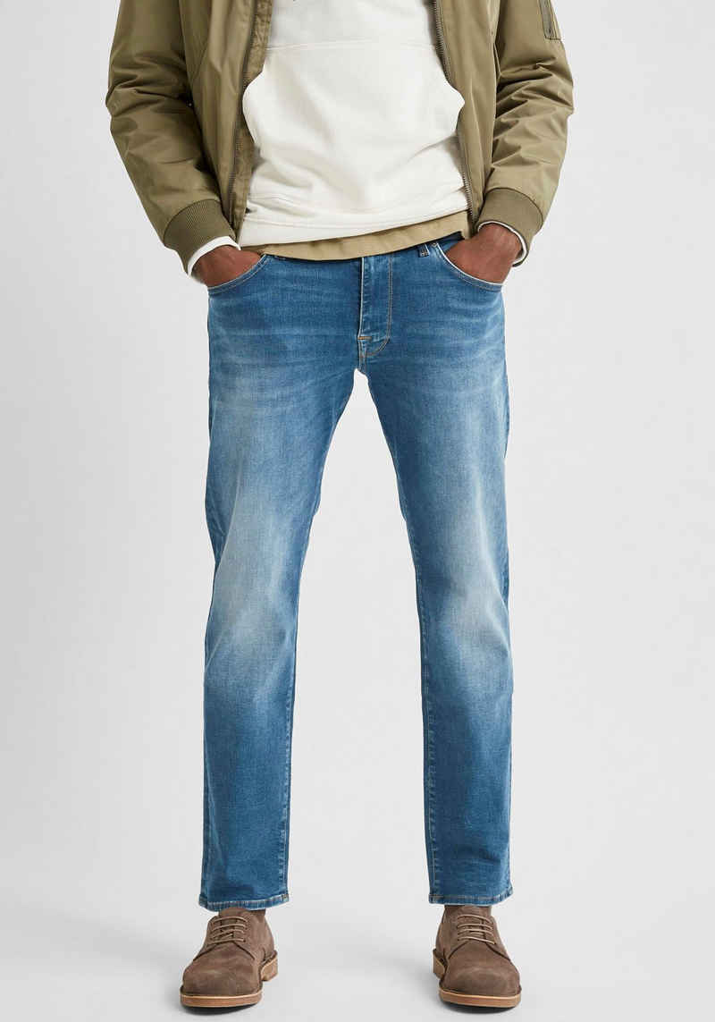 SELECTED HOMME Straight-Jeans »Scott«