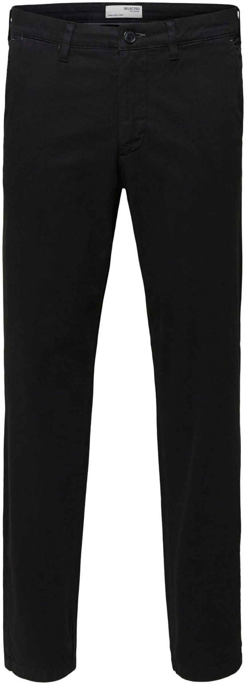 SELECTED HOMME Stoffhose »SLIM-MILES FLEX STRUCTURE PANTS«