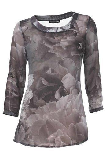 PATRIZIA DINI by Heine Chiffonbluse »Patrizia Dini Damen Designer-Tunikadruckbluse, mauve«