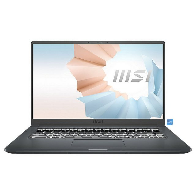 MSI Modern 15 A11M-013 Notebook 39,6 cm 15,6 Zoll, Intel Core i7, 512 GB SSD