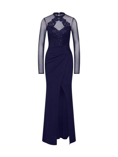 LIPSY Abendkleid »WS NVY EMBR HLTR MXI«