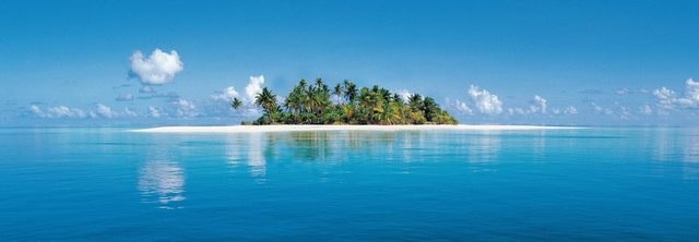 Home affaire Wandtapete, Maldive Island, 127/366 cm