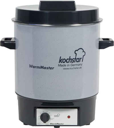 Weck Einmachglas »Kochstar Einkochautomat Einkochtopf WarmMaster Basic m Thermostat ohne Uhr 24115«