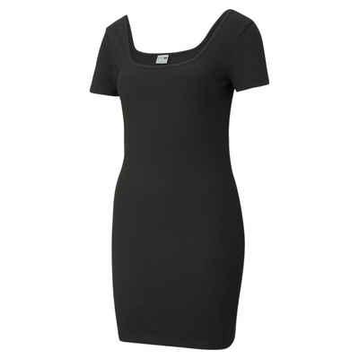 PUMA Sweatkleid »Classics Ribbed Damen Kleid«