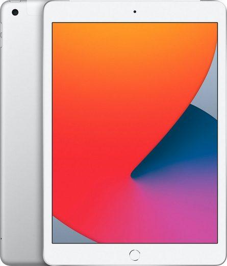 """Apple iPad Wi-Fi + Cellular 32GB Tablet (10,2"""", 32 GB, iPadOS, 4G (LTE), inkl. Ladegerät)"""