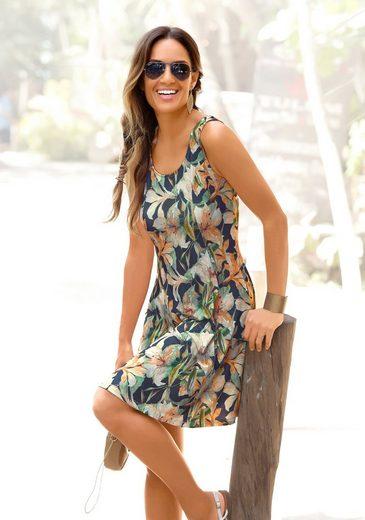 LASCANA Sommerkleid mit tiefem Rückenausschnitt