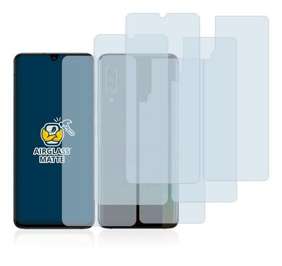 BROTECT Schutzfolie »Panzerglasfolie für Samsung Galaxy A90 5G (Vorder + Rückseite)«, (3 Stück), Schutzglas Glasfolie matt
