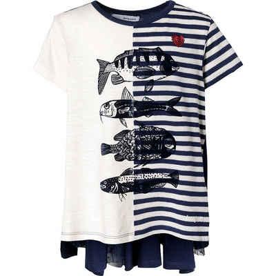 Desigual T-Shirt »T-Shirt mit Rückendetails für Mädchen«