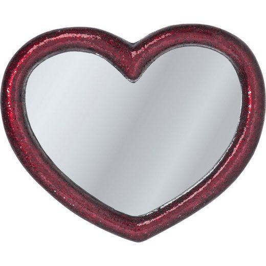 KARE Dekospiegel »Spiegel Mosaik Heart 100x123cm«