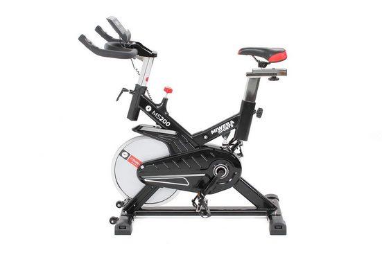 Miweba Sports Fahrradtrainer »MS200«, 13 Kg Schwungmasse - Smartphonehalterung - Pulsmessung