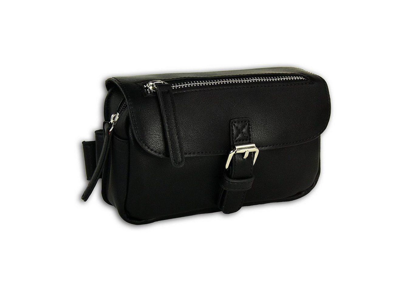 new bags -  Gürteltasche »OTD5024X  Damen Hüfttasche eckig« (Gürteltasche), Damen, Jugend Tasche schwarz, ca. 19cm x ca. 5cm
