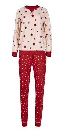 Skiny Pyjama Modisches Design mit Sternen