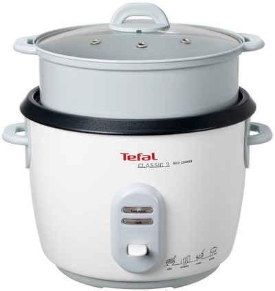 Tefal Reiskocher RK1011, 750 W, 10 Tassen Kapazität (5L); automatische Warmhaltefunktion; Dampfkorb inklusive